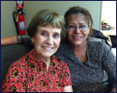 Student with Mentor Joann